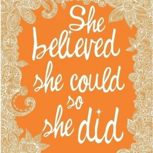 KateUpdates: Believe You Can