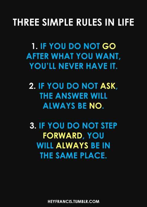 KateUpdates Three Rules