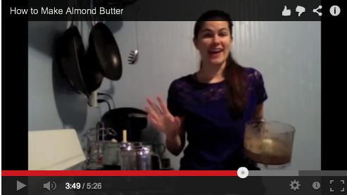 KateUpdates Almond Butter